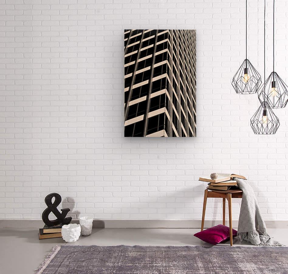 International Abstract  Wood print