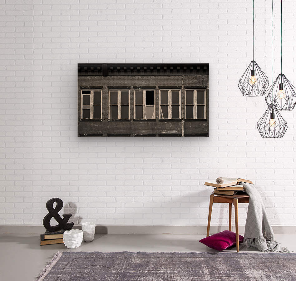 Winston Windows  Wood print