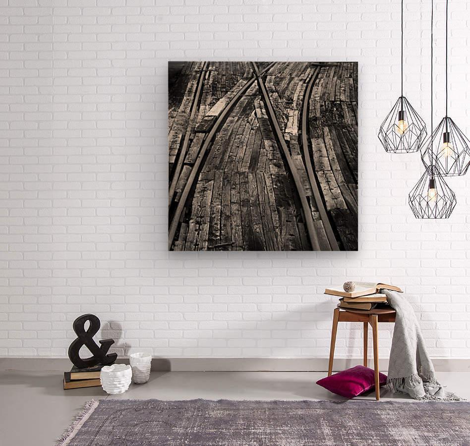 Bailey Tracks  Wood print