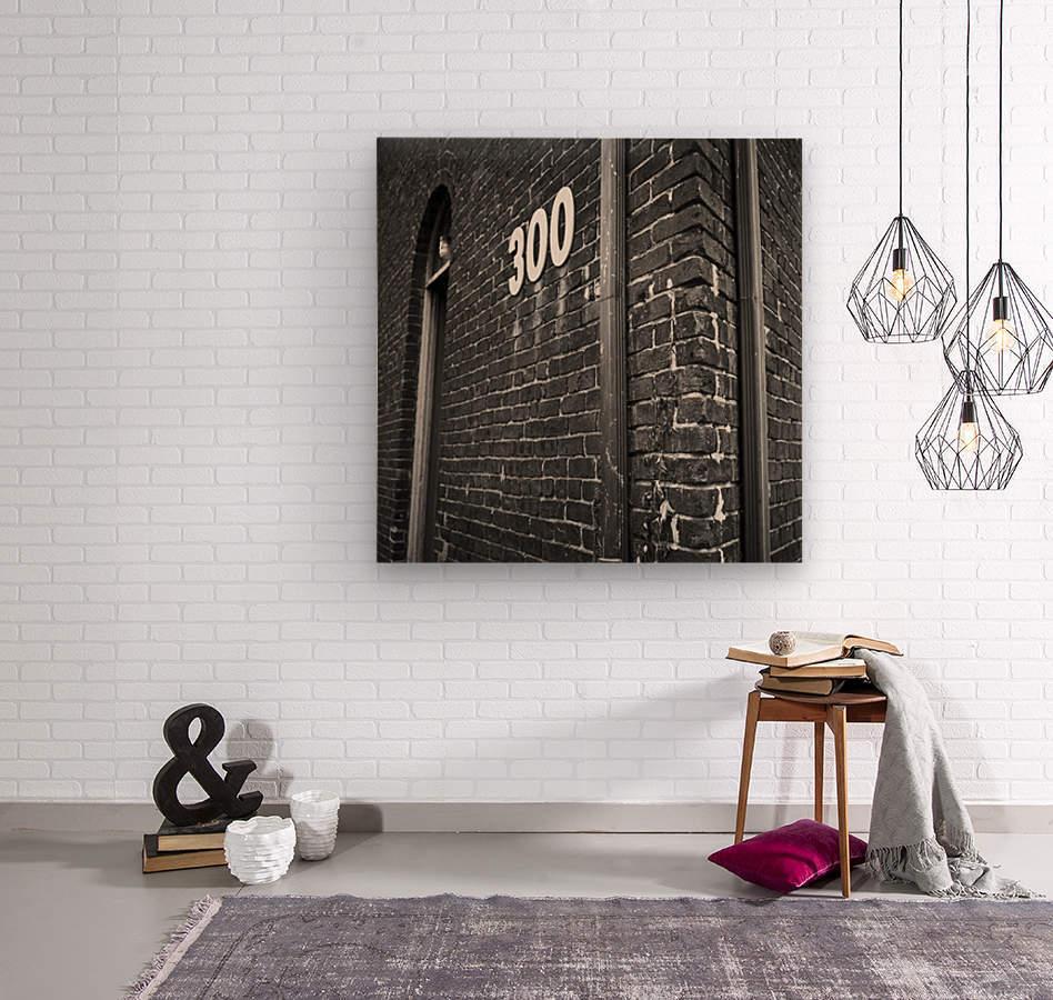 Winston Salem 82  Wood print