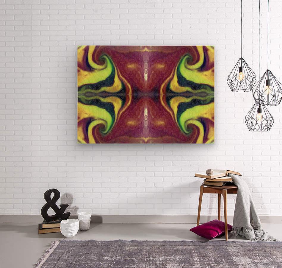 IkeWads054  Wood print