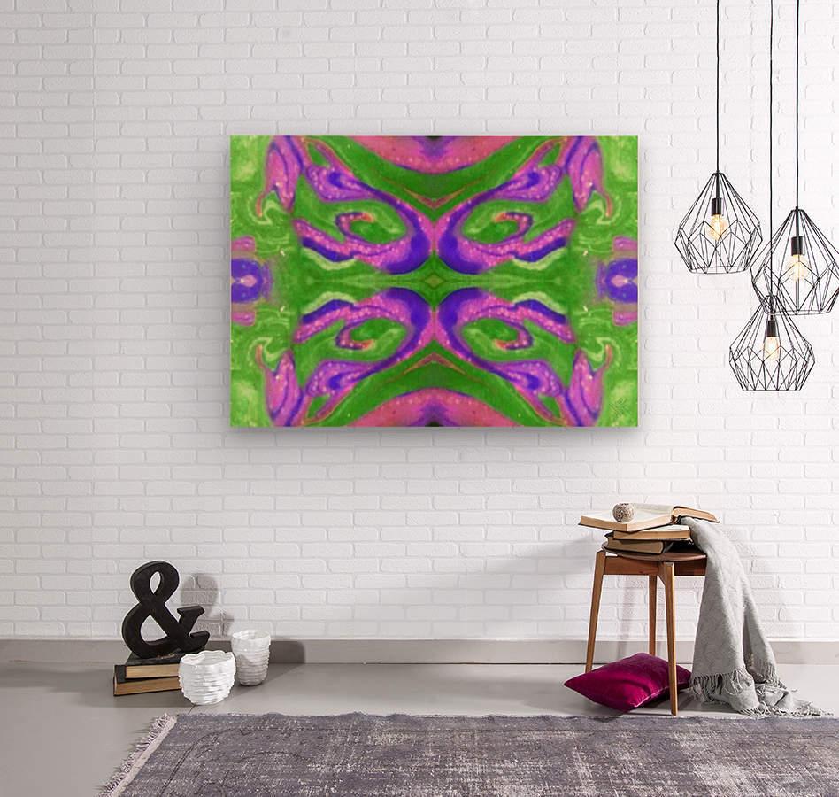 IkeWads133  Wood print