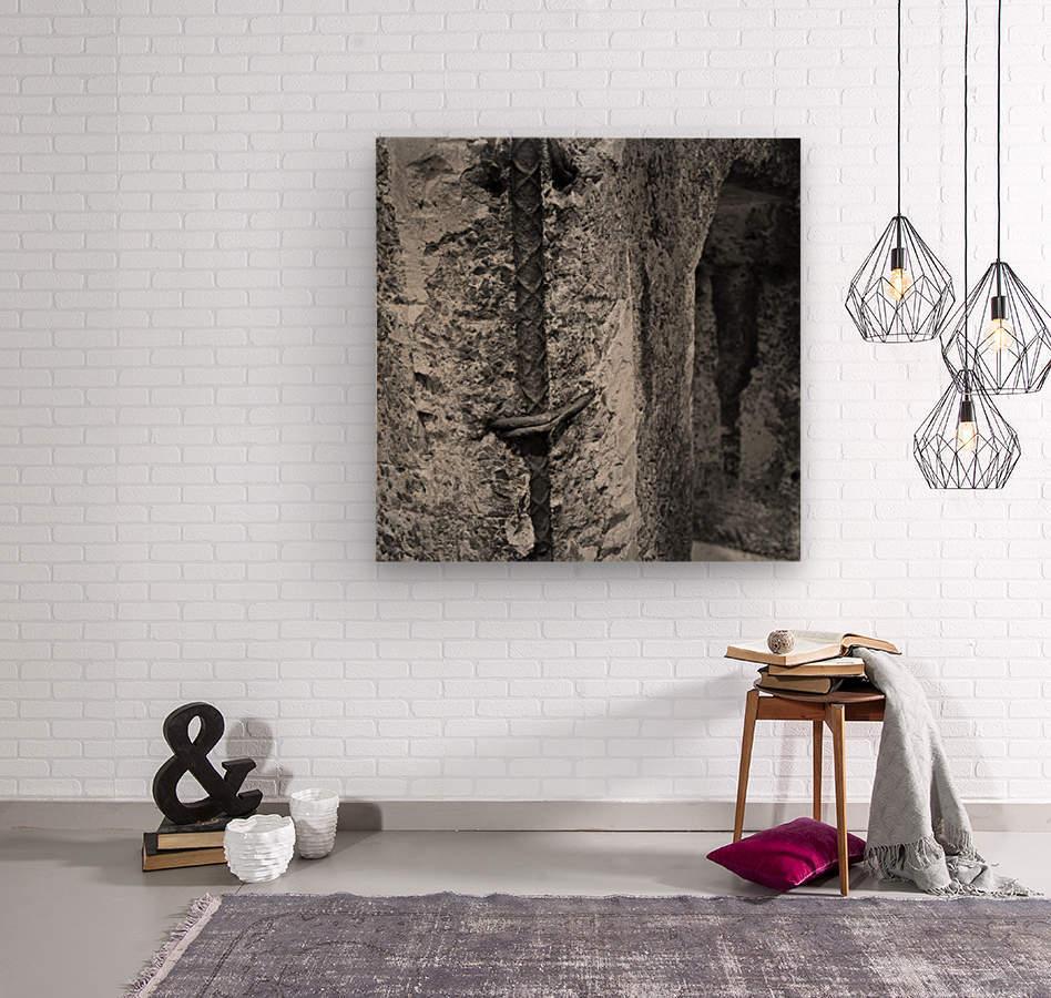 Winston Salem 100  Wood print