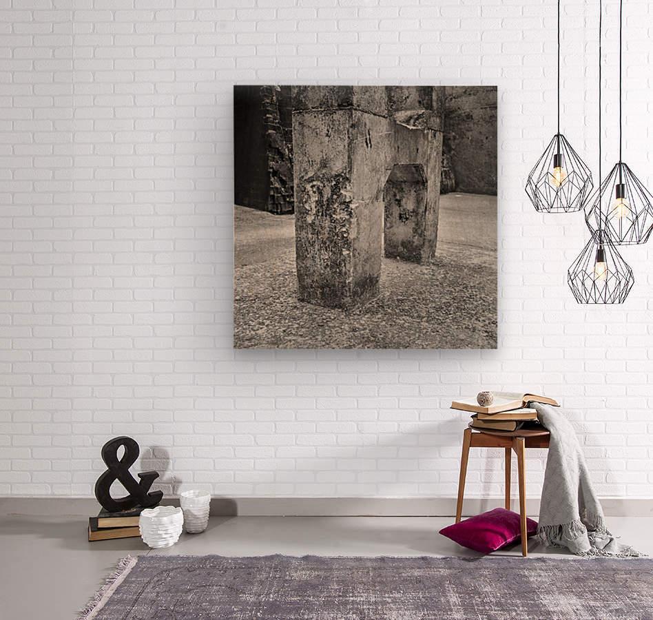 Winston Salem 101  Wood print