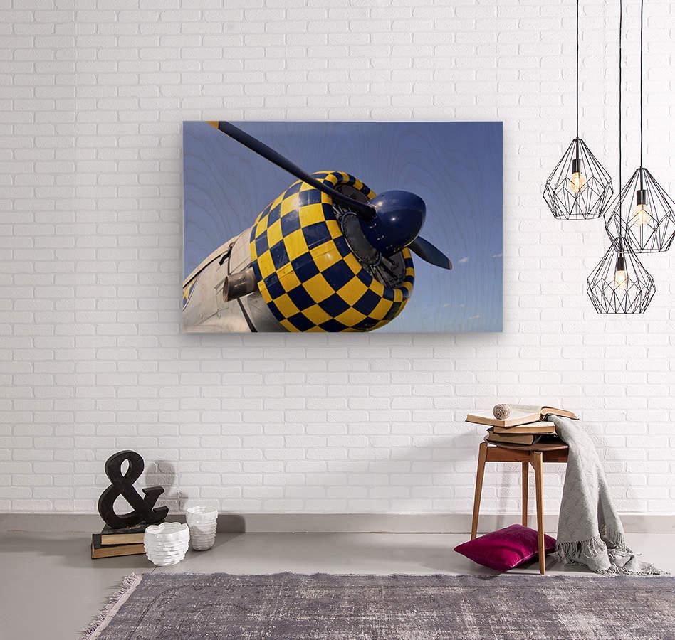 stk105465m  Wood print