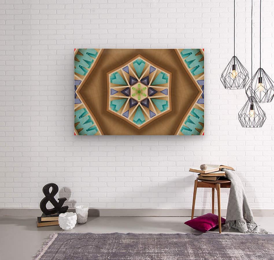 Pattern design  Wood print