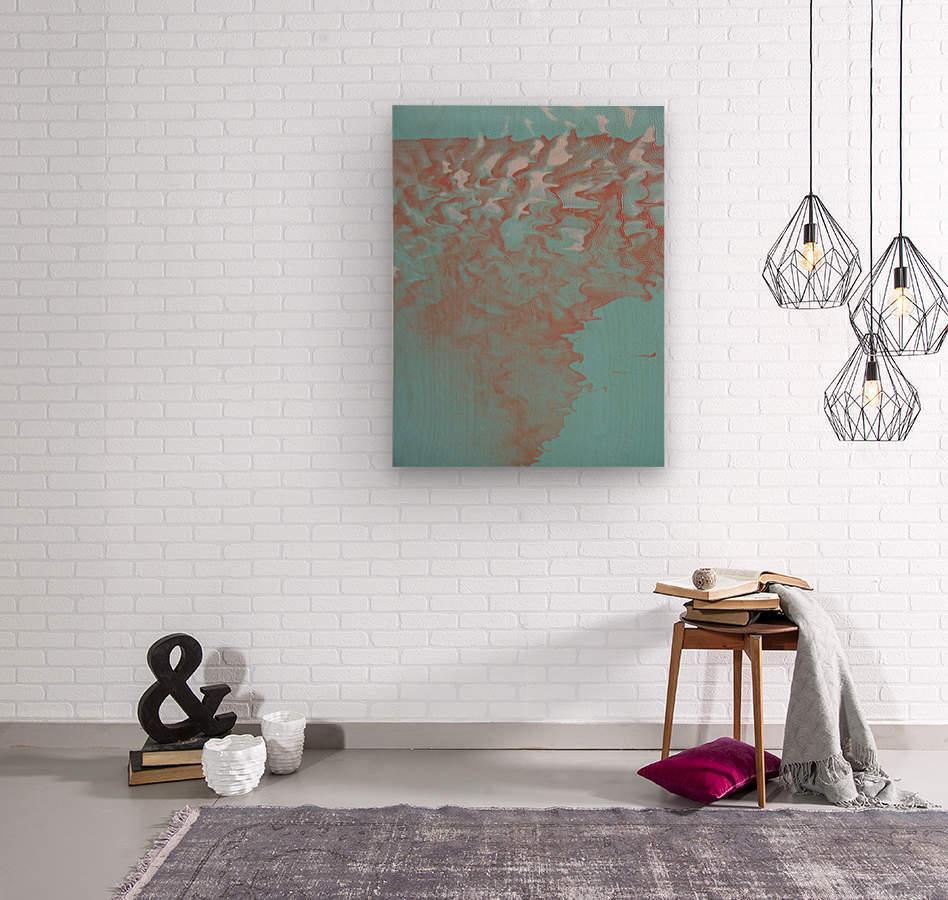 VAPOR 2  Wood print