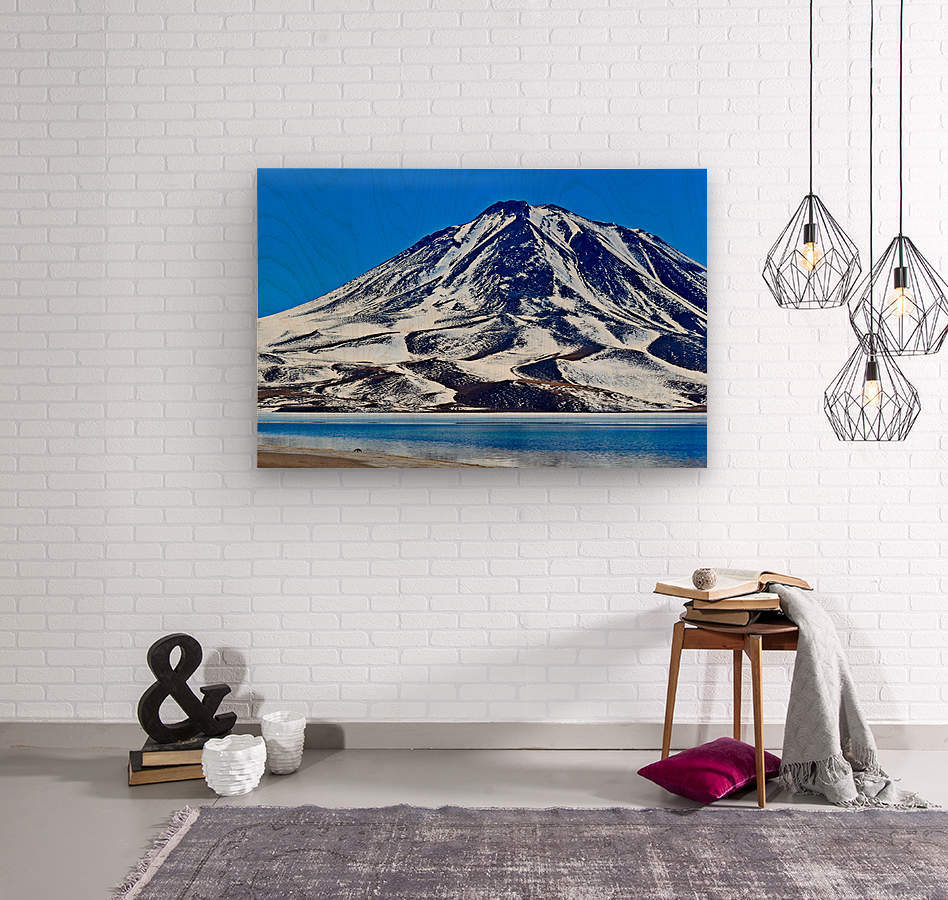 Laguna Miscanti  Wood print