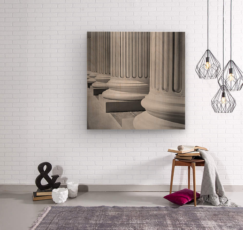 House Of Justice  Wood print