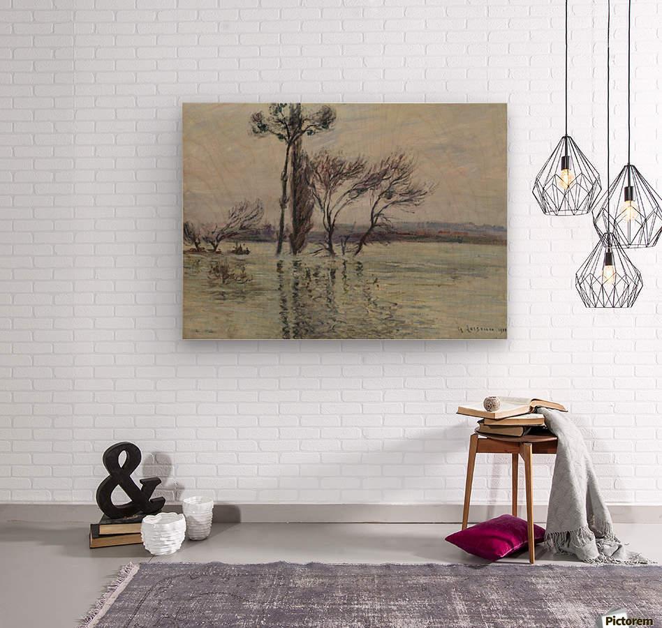 Point Ile Submerged  Wood print