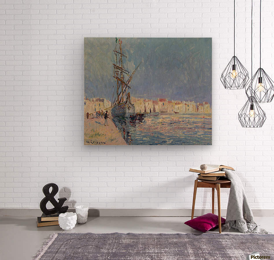 The Martigues, the Port of Ferriere  Wood print
