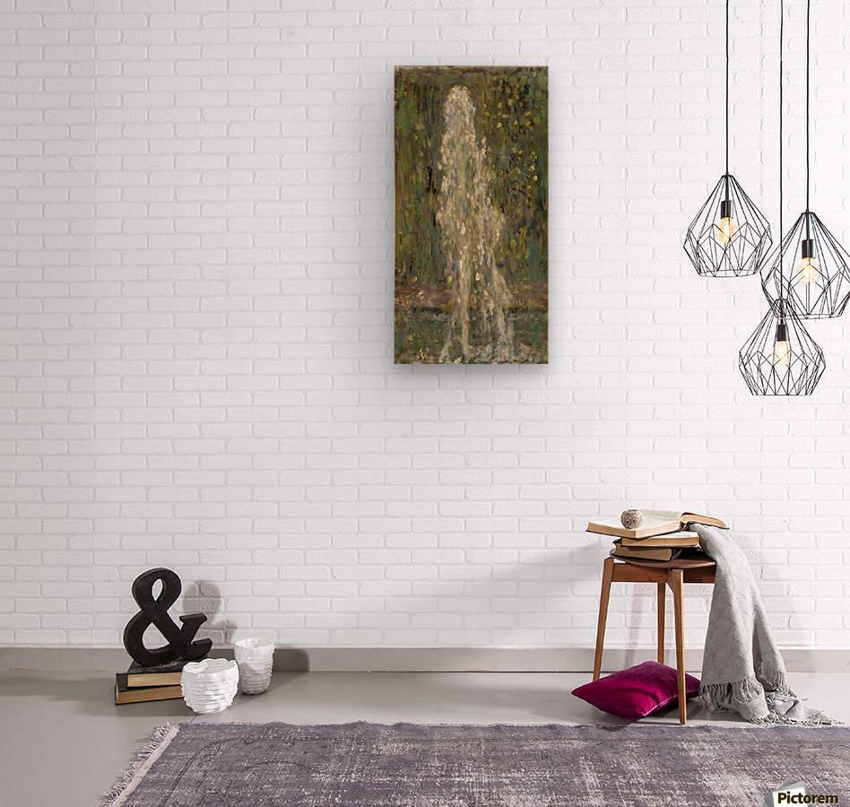 The Waterjet  Wood print