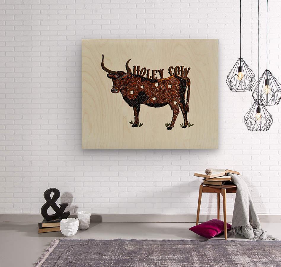 Holy Cow. Stephen R  Wood print