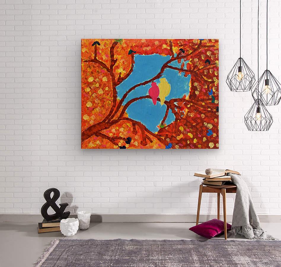 Love Birds. Maggie  Wood print