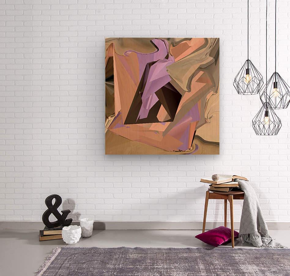 Art one  Wood print