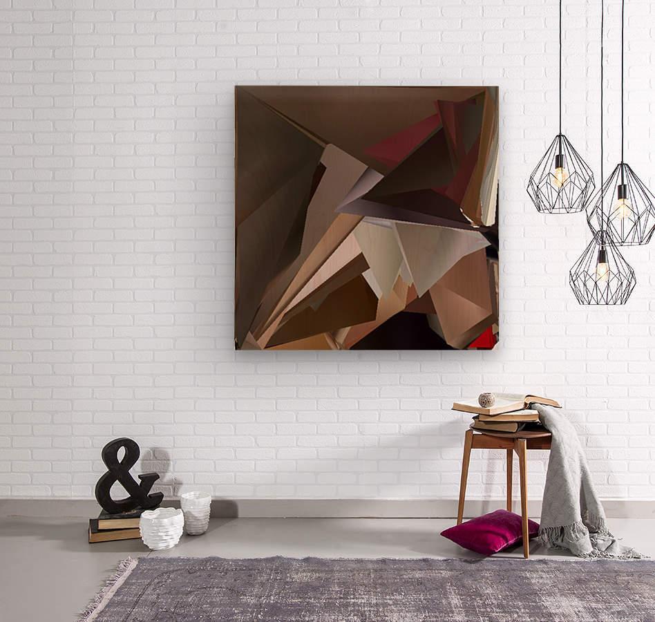 Art three  Wood print