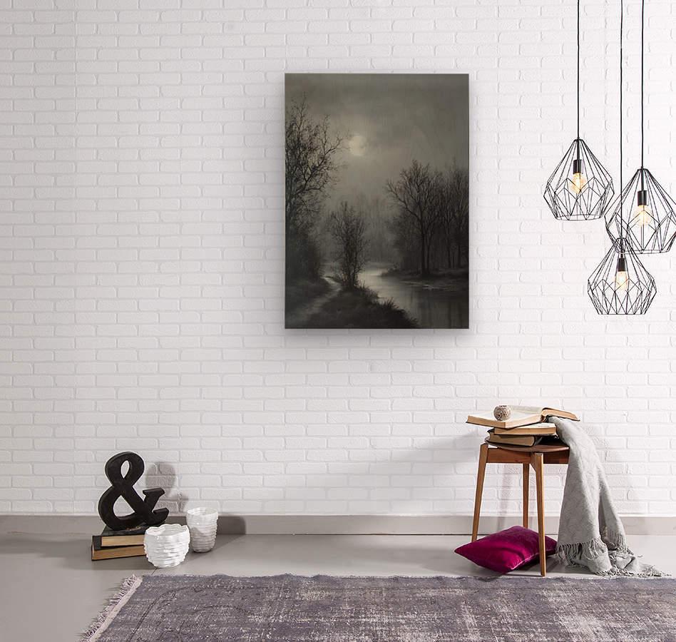 Hint of Sunlight  Wood print