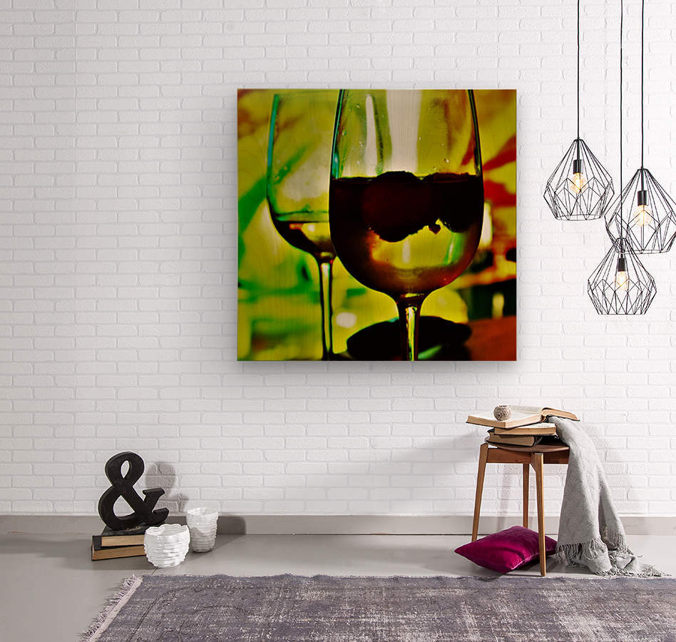 winedown  Wood print