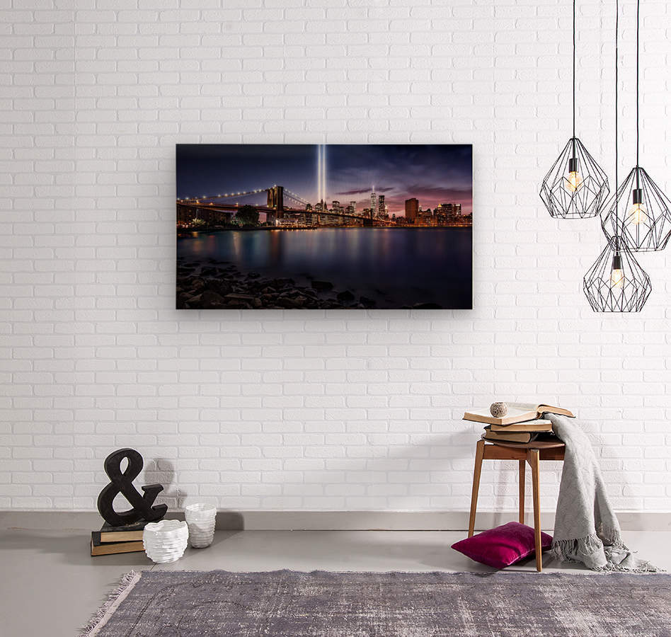 Unforgettable 9-11  Wood print