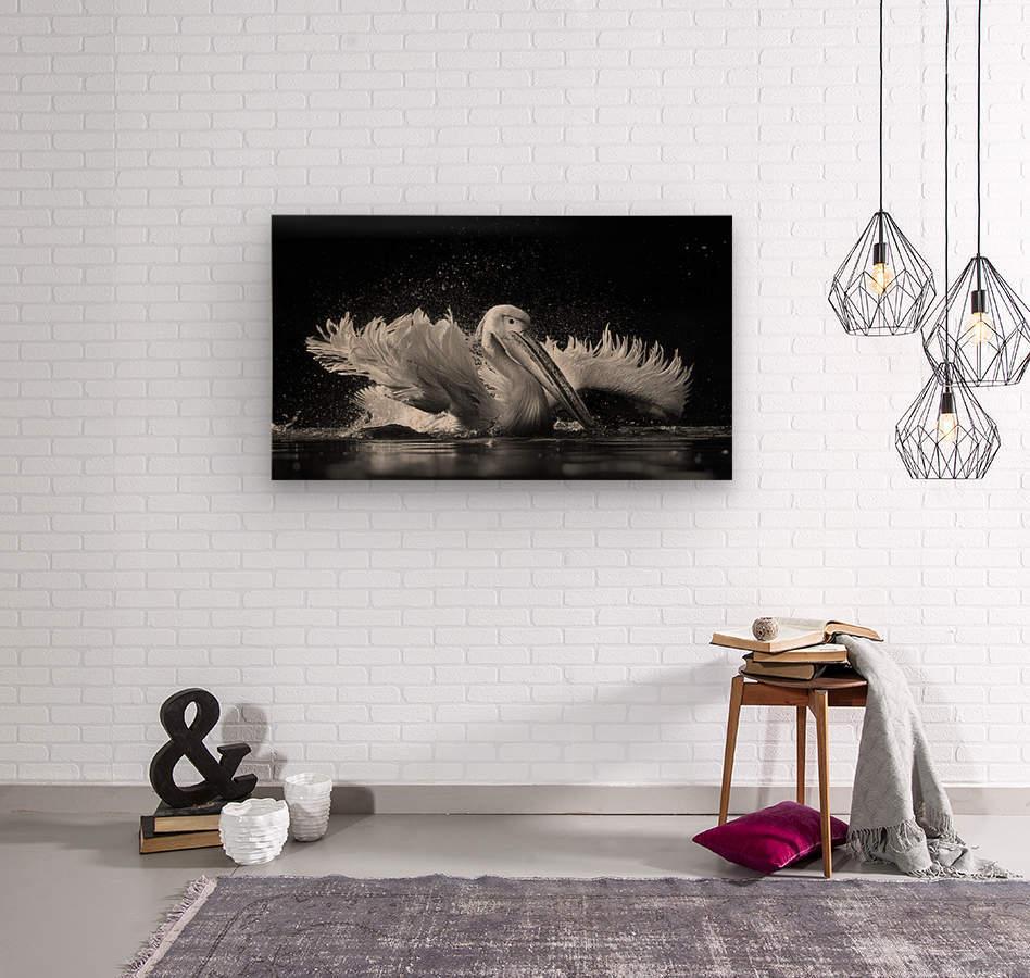 Refreshing  Wood print
