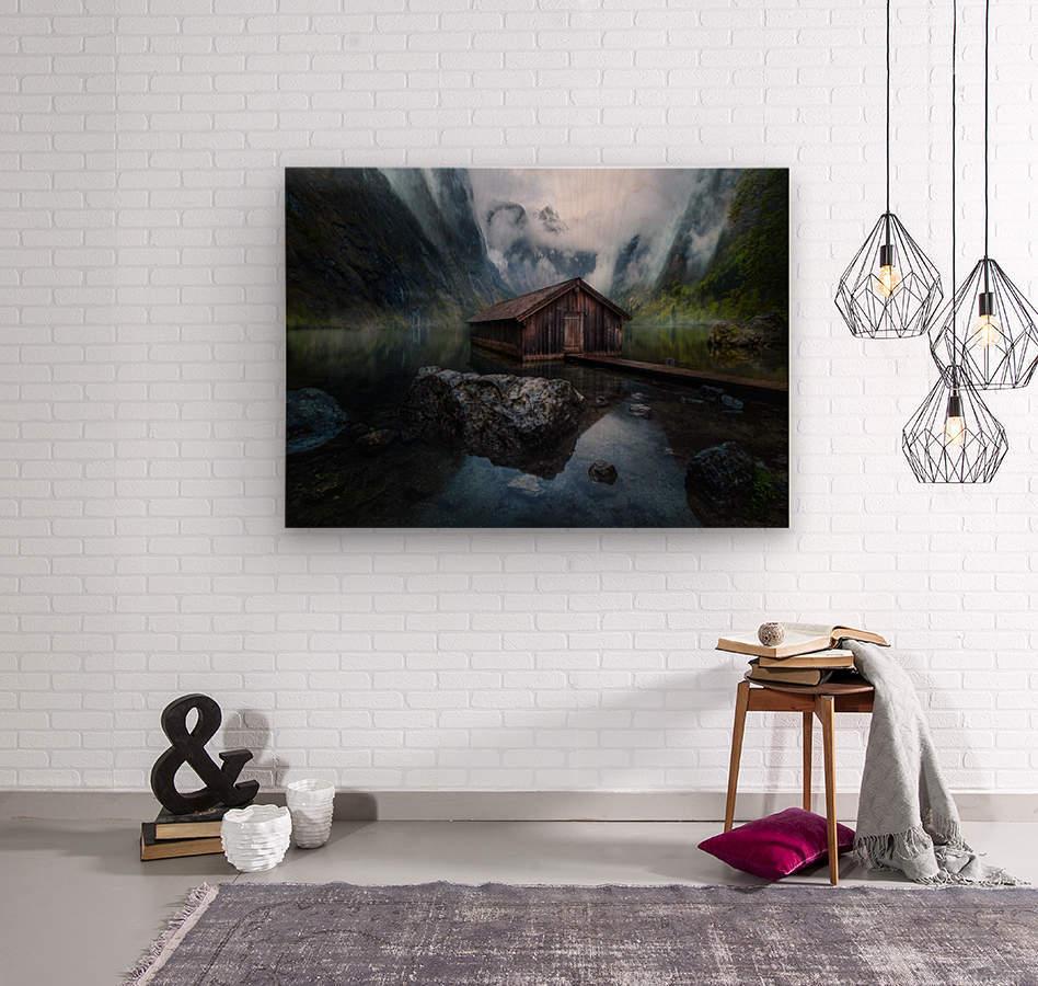 Ober-View  Wood print