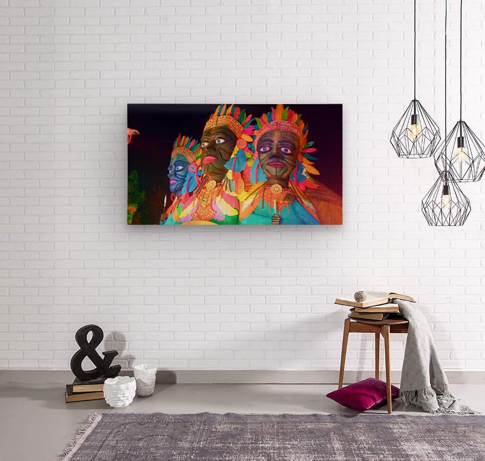 Decorations  Wood print