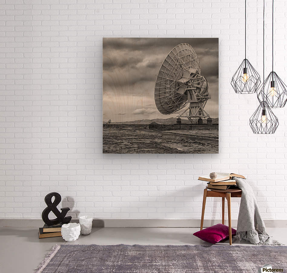 Very Large Array New Mexico  Wood print