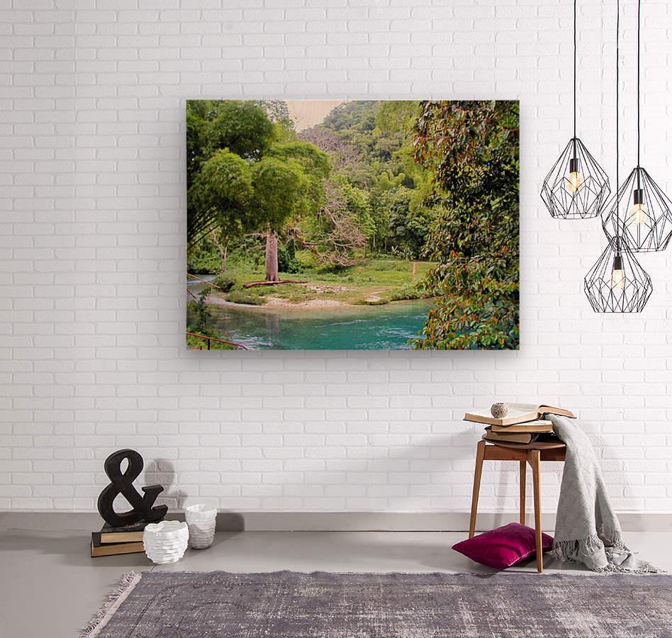 River7  Wood print
