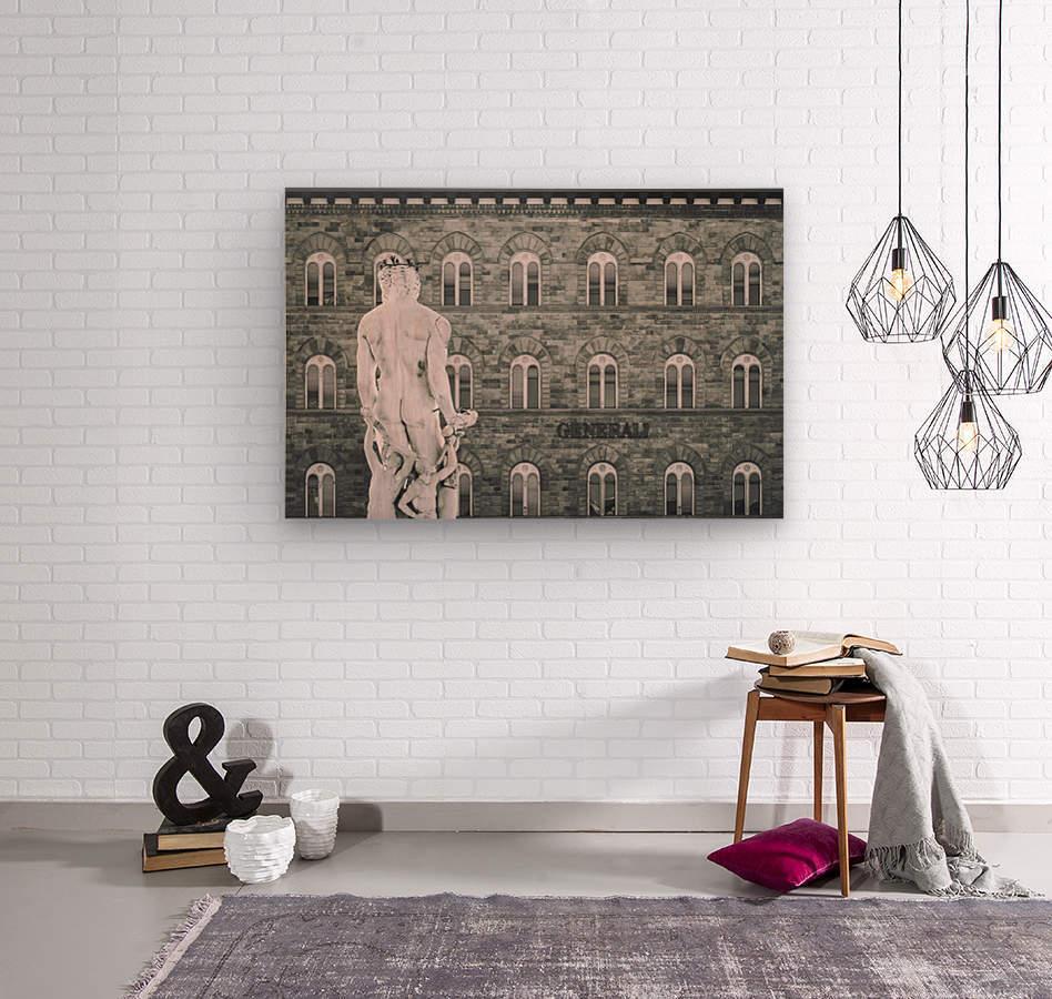 Generale di Firenze  Wood print