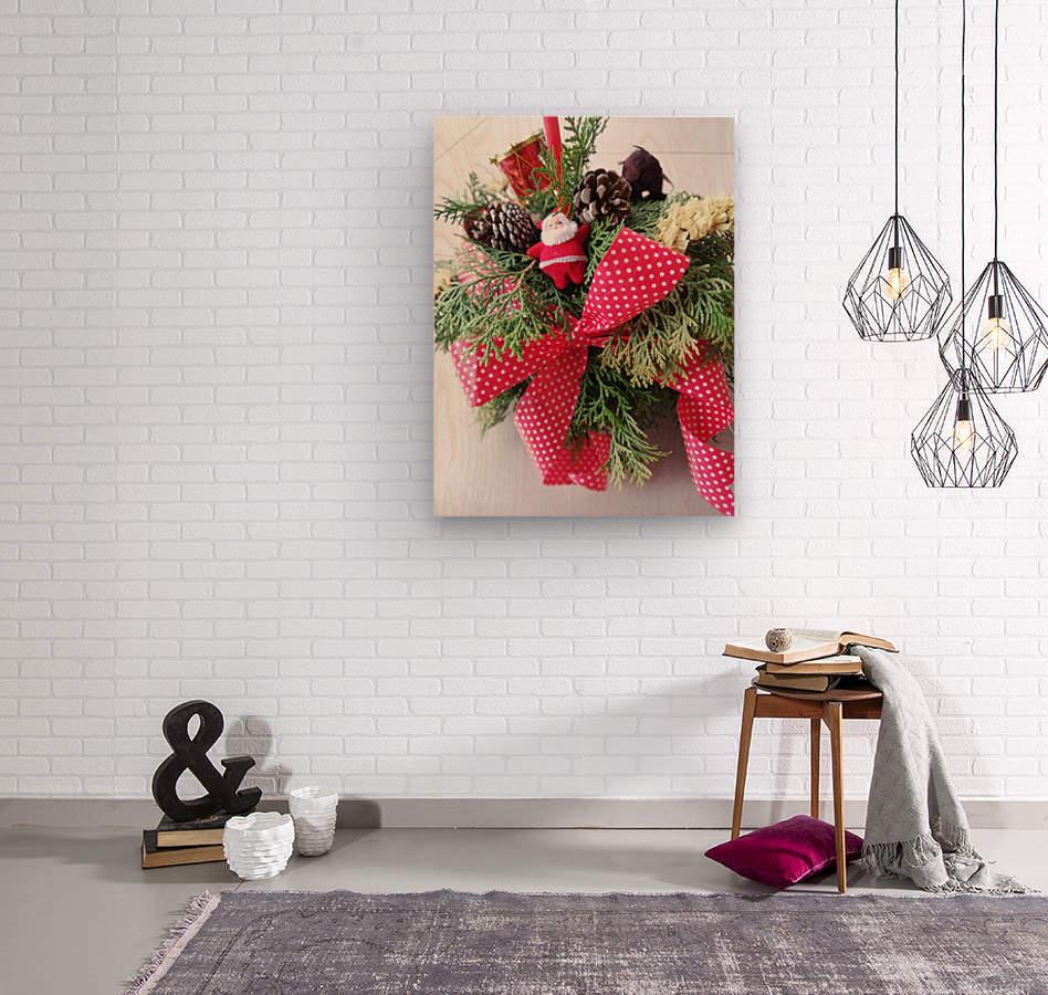 Merry Christmas Day  Wood print