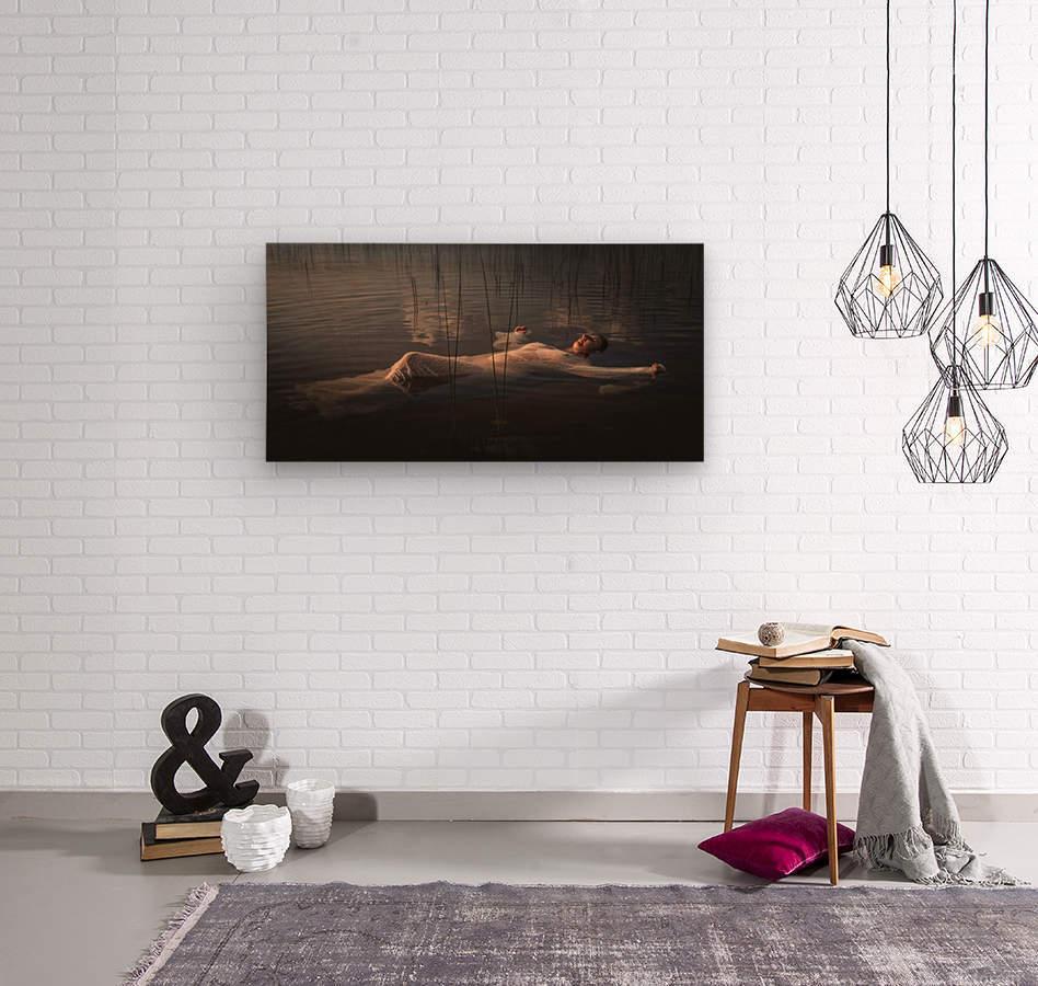 Marie-Élaine  Wood print