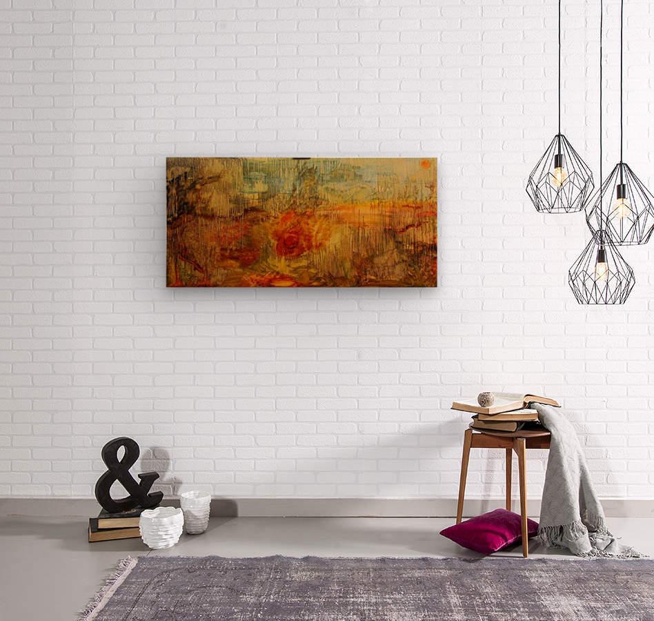 Genesis rewound  Wood print