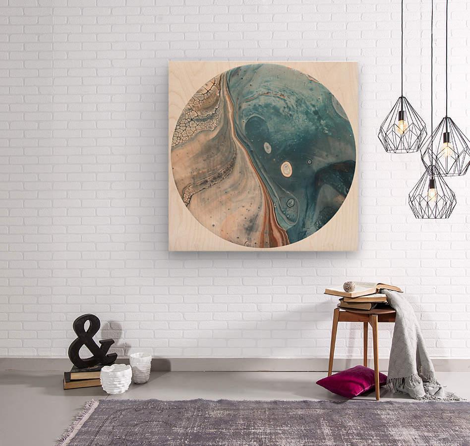 Tide  Wood print