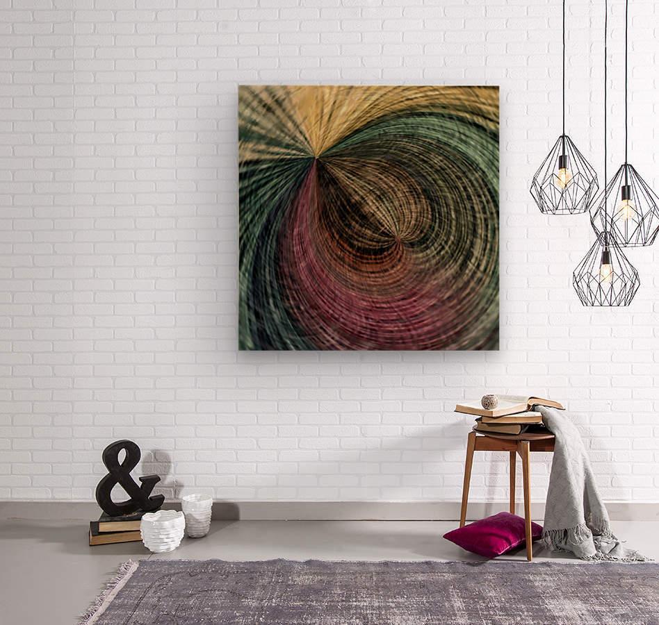 Spir air  Wood print