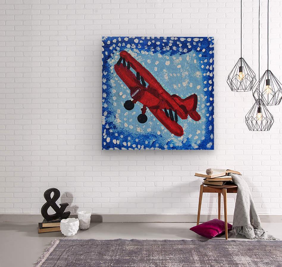 Airplane. David K  Wood print