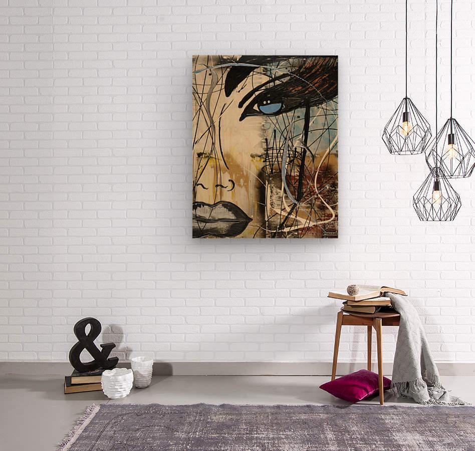 3028 - edge  Wood print