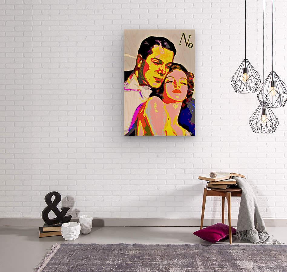 Voulez Vous Couchez Avec Moi - by Neil Gairn Adams  Wood print
