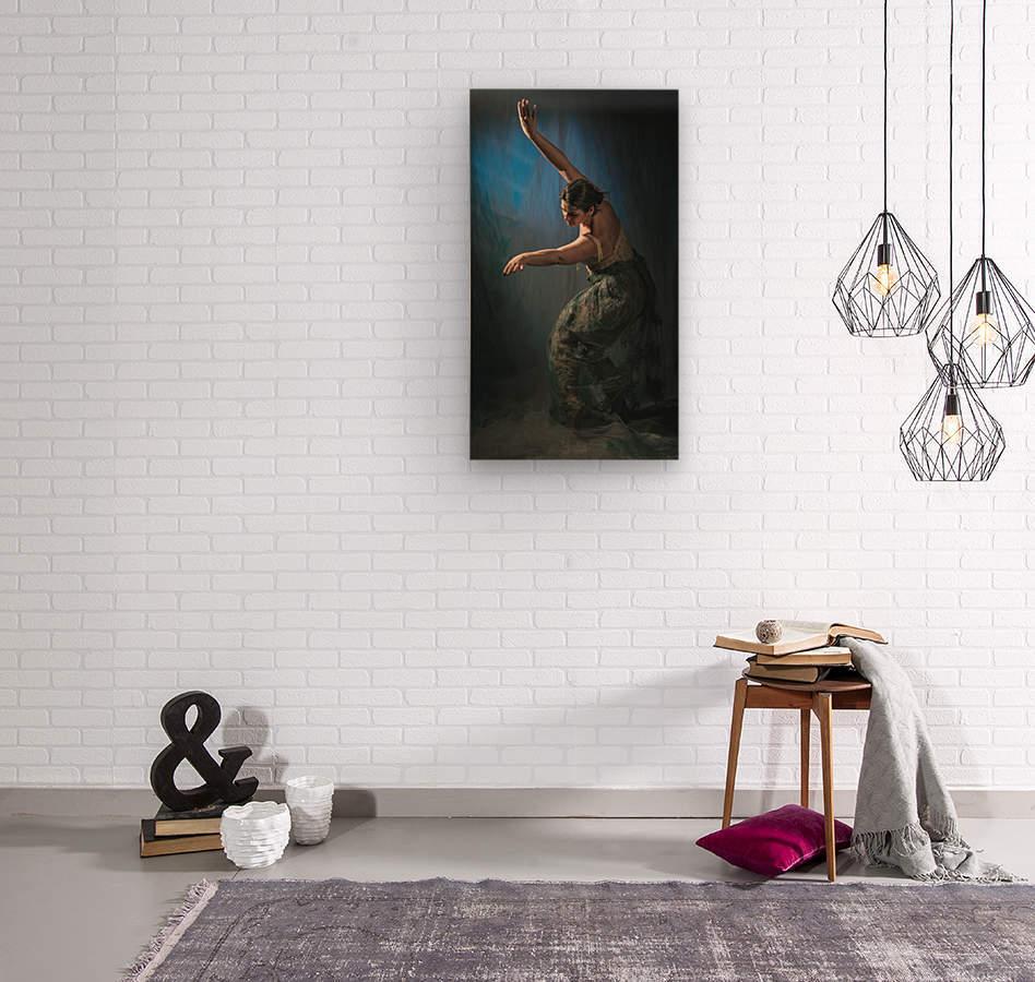 Isabelle  Wood print