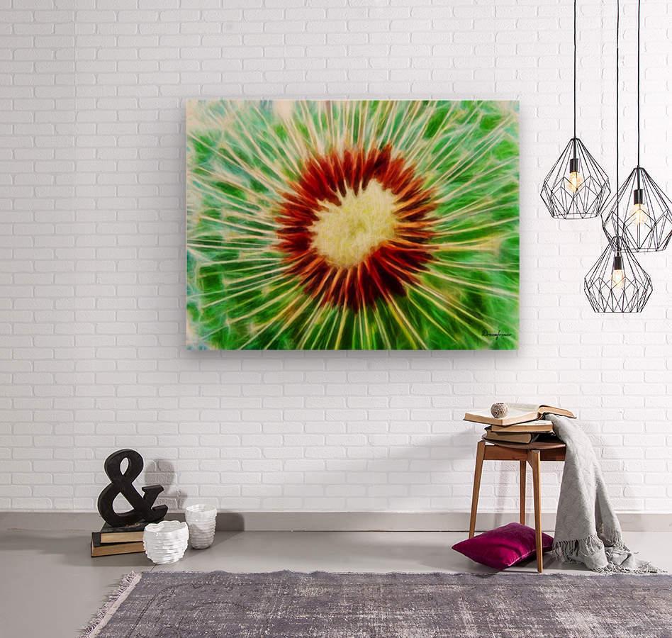222808 dandelion  Wood print