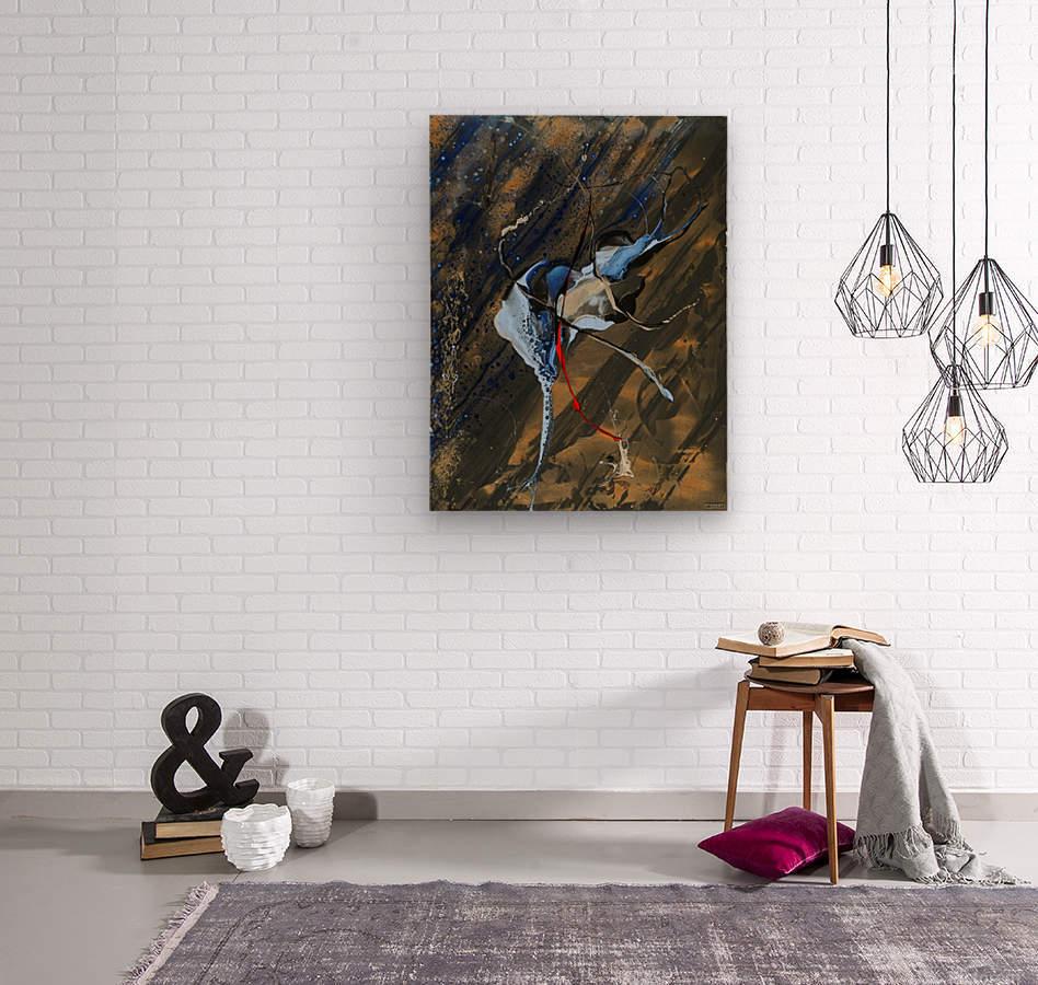 3664   feerique  Wood print