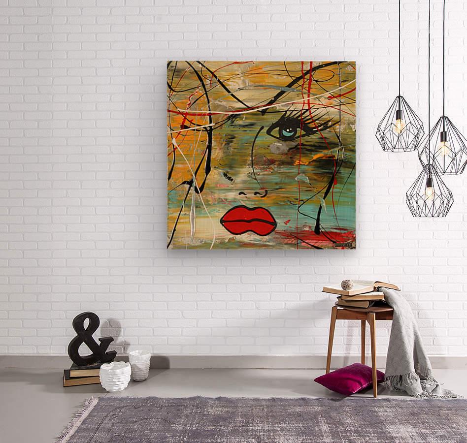 2828   colors  Wood print