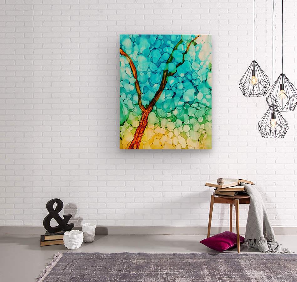 Spring Show2  Wood print