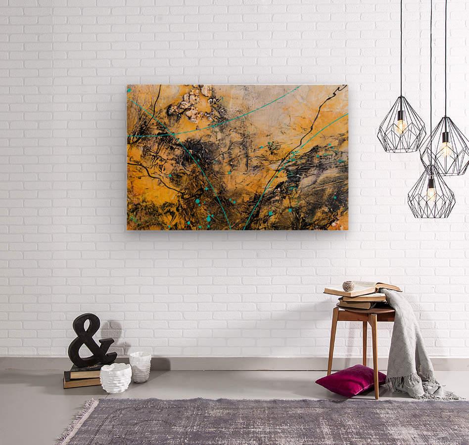 Sophia Deux  Wood print