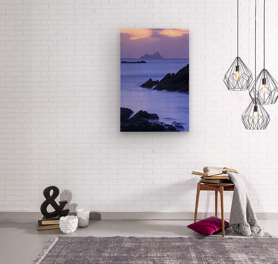 KY 281 Ballinskelligs Bay _1549666038.67  Wood print