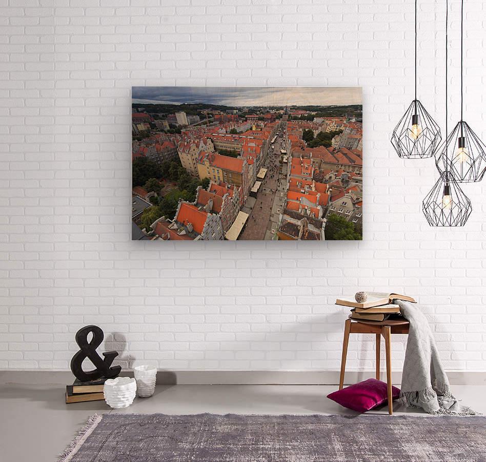 POL 012 Gdansk  Wood print