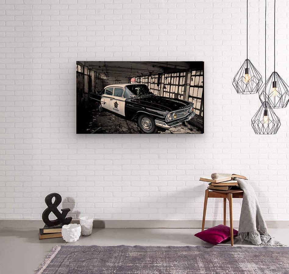 Car  Wood print