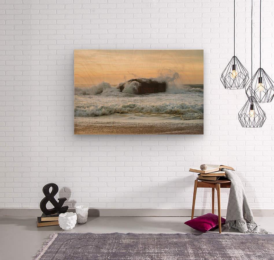 SEA BUNKERS   Wood print
