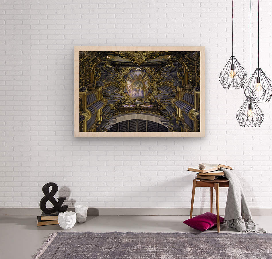 Braga - Portugal -Cathédrale Sé  Wood print