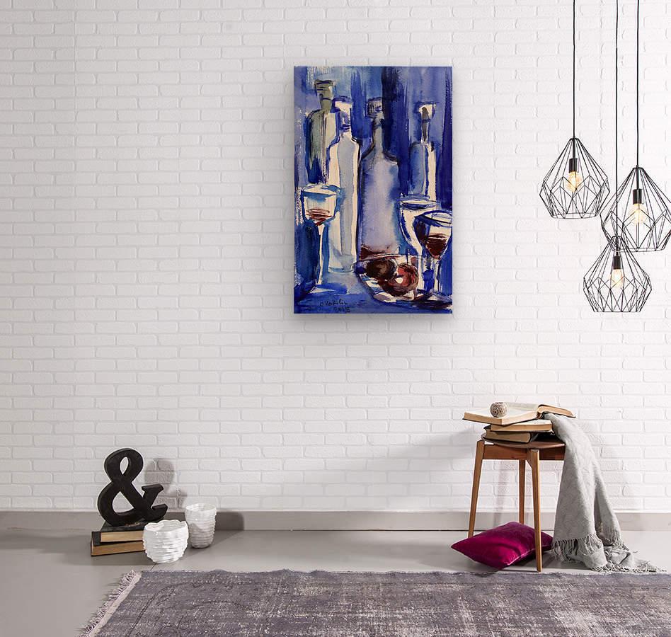 Beaujolais Nouveau  Wood print