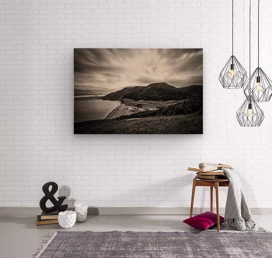 Pollets Cove  Wood print